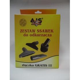 Ssawka mała ELECTROLUX,ZELMER zestaw 4szt+złączka SO-6473