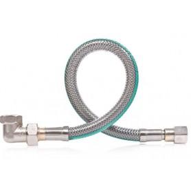 Przyłącze gazowe elastyczne FPGS 04KB-100 z kolank
