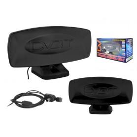 Antena pokojowa DVB-T DIGITAL USB czarna