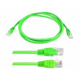 Przyłącze komputerowe sieciowe 1;1 8P8C 3m zielone