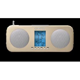 GOTIE radiobudzik GRA 200Z złoty