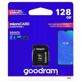 Karta pamięci SDXC micro 128GB GOODRAM+ adapter