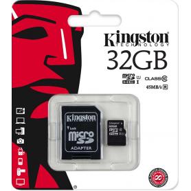 Karta pamięci SD micro 32GB ADATA +adapter AUSDH32GUICL 10-RA1